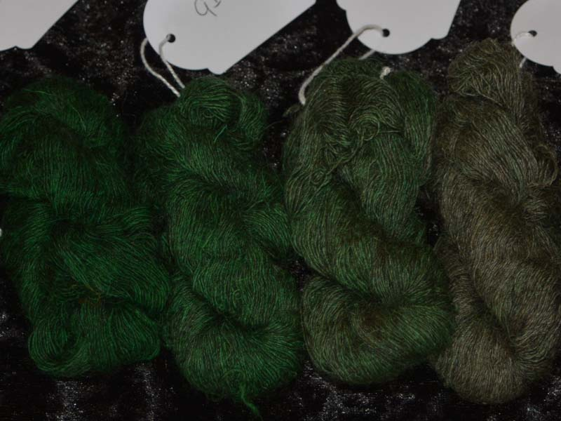 Shocking Shamrock (Grijze basis/grey base)